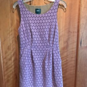 Anthropologie Maeve Lilac Lace Dress